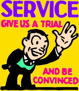 Service - Give Us a Trial